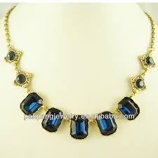 big rhinestone necklace images Charm jewelry emerald stone designs rhinestone necklace buy jpg
