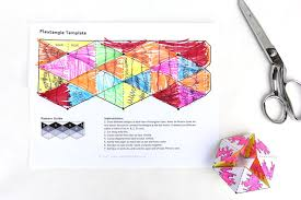 paper toy flextangles babble dabble