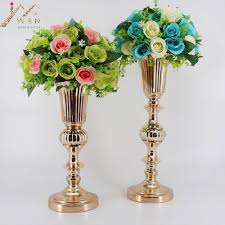 flower vase picture more detailed picture about gold tabletop