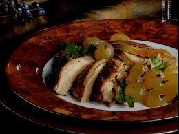 comment cuisiner l oie recette poitrine de faisan rôtie et foie d oie braisé aux raisins