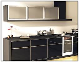 Glass Kitchen Cabinet Door by Back Painted Glass Kitchen Cabinet Doors Home Design Ideas