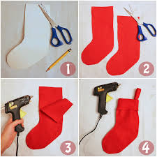 the joy of fashion christmas no sew diy candy cane stockings