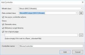 asp net mvc 5 u2013 entity framework 6 crud operations on visual