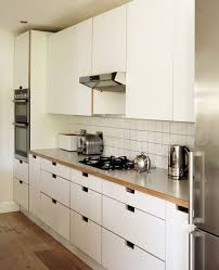 kitchen cabinets no handles birch plywood formica kitchen by matt antrobus home