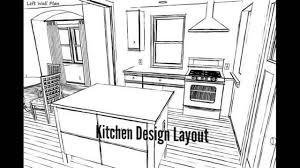 kitchen design layout youtube