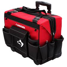 black friday milwaukee tools home depot husky 18 in rolling tool tote 82001n11 the home depot