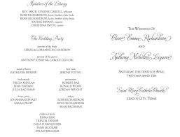 program for catholic wedding mass wedding invitation wording formal catholic yaseen for