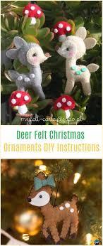 diy felt ornament craft projects