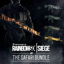Buy Rainbow Six Siege Gold Rainbow Six Siege On Get The Safari Bundle With Tiger