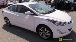 2015 hyundai elantra se review 2015 hyundai elantra gls exterior and interior walkaround