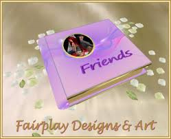 friends photo album second marketplace fda purple illusion friends album