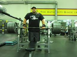 World Bench Press Record Eric Spoto The Man Behind The Bench Press World Record Lift
