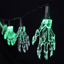 halloween party string lights spooky hand lights 5 5 feet