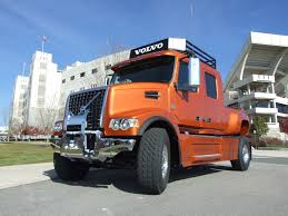 volvo vhd pickup front view this what i do all day long