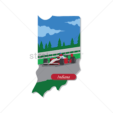 Indiana State Map Indiana State Map Vector Image 1551381 Stockunlimited