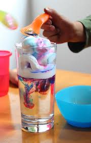 experimento de nubes en un vaso artividades
