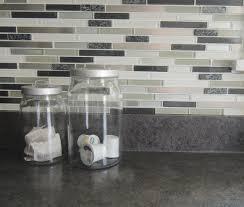 kitchen peel and stick backsplash tiles modern aluminum stick on