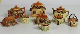 cottage ornaments by keele st pottery co staffordshire