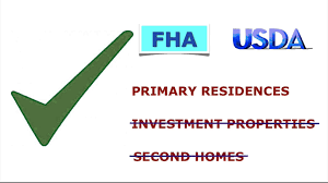 Usda Home Search What Are The Differences Between Fha And Usda Loans Youtube