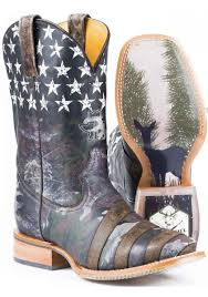 camoflag tin haul boot with hunt club obvious sole cowboy boots