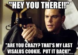 Hey You There Meme - hey you there are you crazy that s my last visalus cookie put