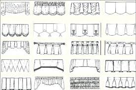 different curtain styles different curtain hanging styles ways to hang curtains the right