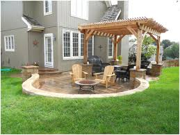 backyards ergonomic small backyard paver patio designs