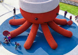 florentijn hofman designs a giant octopus playground for shenzhen