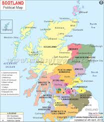 map of and scotland geography detailed map of scotland