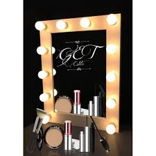 Professional Makeup Lights Hollywood Style Professional Makeup Mirror With Lights