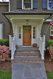 exterior delectable contemporary front porch decoration with grey