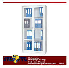 Glass Bookcase With Doors Bookcase Bookcase With Tempered Glass Door Front And Key Lock