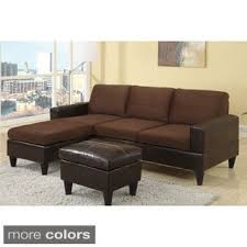 Buchannan Microfiber Sofa by Buchanan Microfiber Sectional Free Shipping Today Overstock