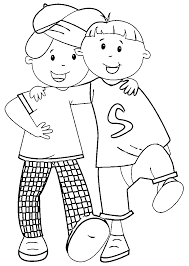 best friends free coloring pages on art coloring pages