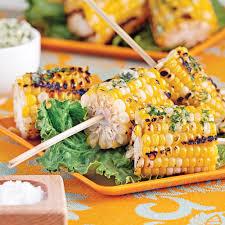 cuisiner mais maïs grillés sur brochettes entrées et soupes recettes 5 15