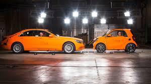 si e auto crash test car crash test smart vs mercedes s class