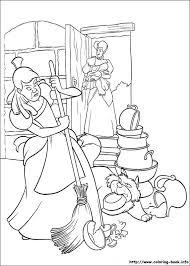 Cinderella Coloring Pages Coloring Book