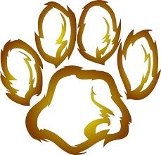 lions paw print clip art at clker com vector clip art online