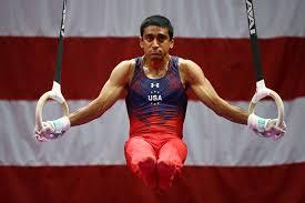 olympic rings men images Akash modi photos photos 2016 men 39 s gymnastics olympic trials jpg