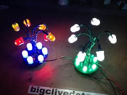 led snowdrop light project with downloadable pcb file