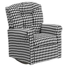 kids houndstooth recliner rocking chair houndstooth baby