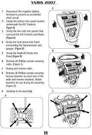 2007 yaris stereo wiring diagram
