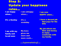 how to be happy at work and at home