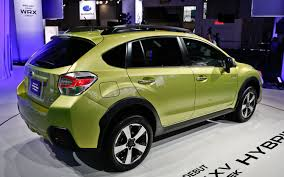 crosstrek subaru colors 2014 subaru xv crosstrek hybrid first look truck trend