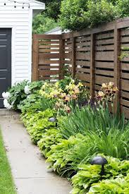 Privacy Ideas For Backyards by Surprising Garden Design 3673cddbe32fae019f44edecd8c6f057