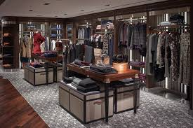 display tables for boutique brooks brothers retail design blog