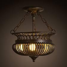 wrought iron flush mount lighting three light semi flush mount ceiling wrought iron fixture