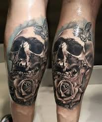 80 amazing example of cool skull tattoo designs golfian com