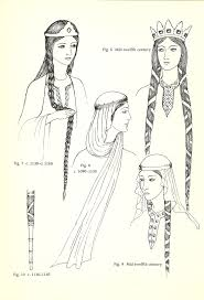 anglo saxons hair stiels mediumaevum i hope this will help with your reenactments and fanart