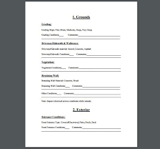 sample home inspection checklist home inspection checklist